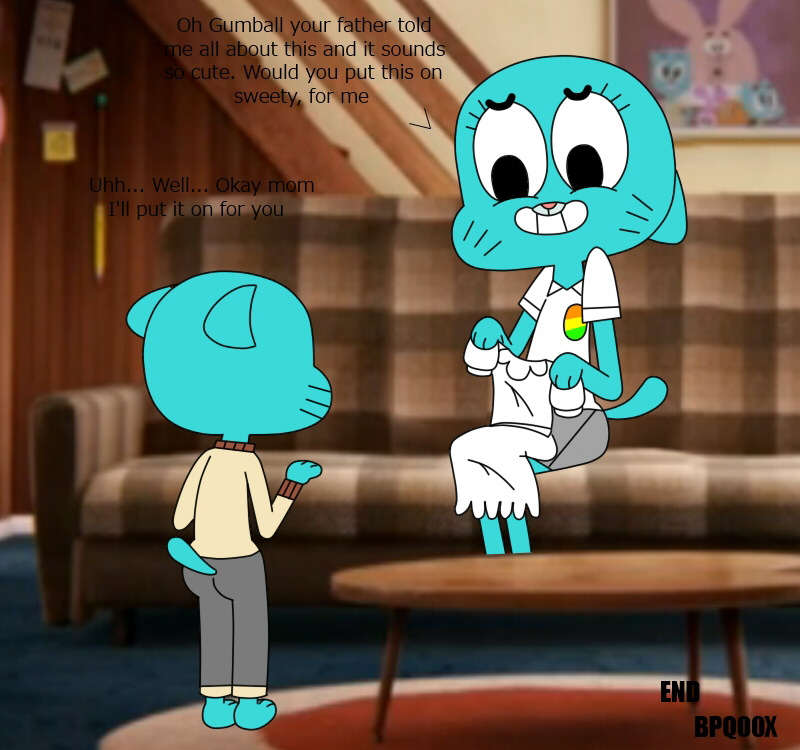 world the of e621 amazing gumball My pet succubus
