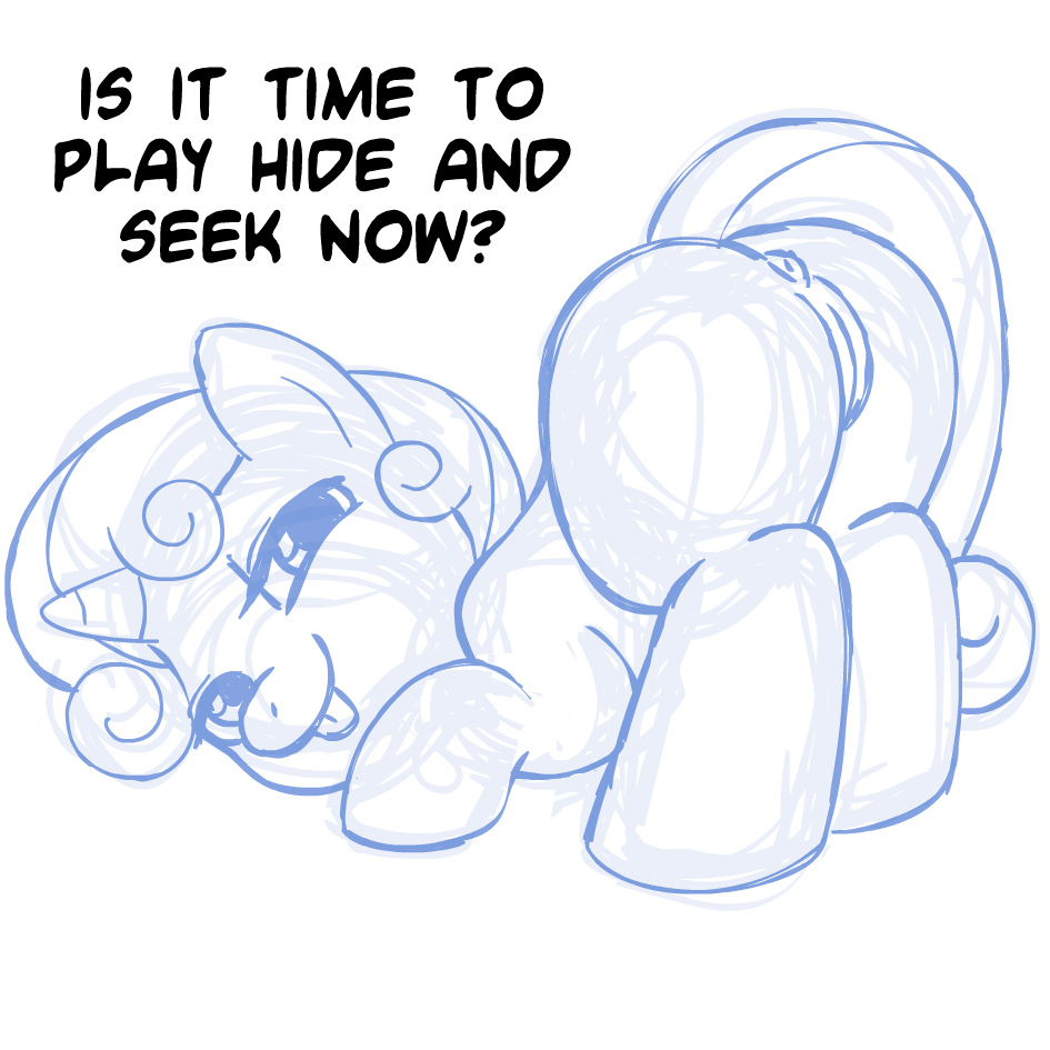 sweetie belle button mash x Tales of vesperia insect horn
