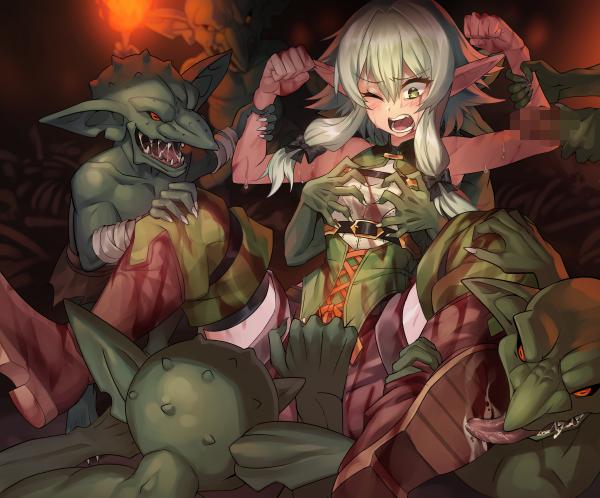 slayer manga scene rape goblin The evil within 2 obscura