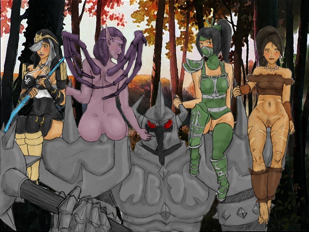 kai sa of league legends Enter the gungeon the hunter