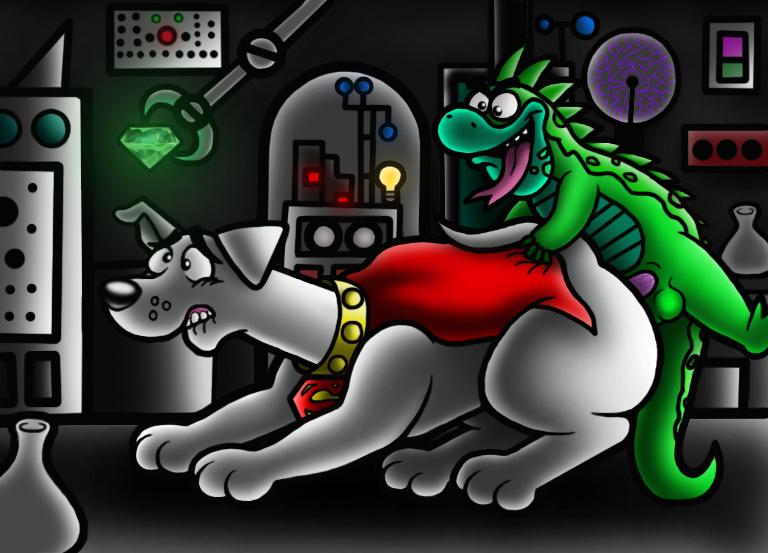 krypto tail terrier superdog the Mortal kombat sonya blade nude