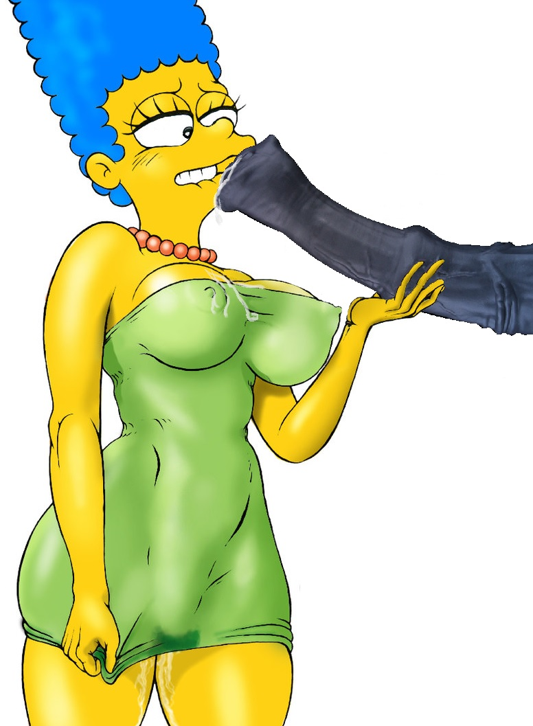 marge with simpson boobs big Wolf girl anime with white hair