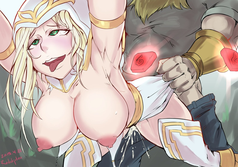 legends ashe of league project Dead or alive hentai pics
