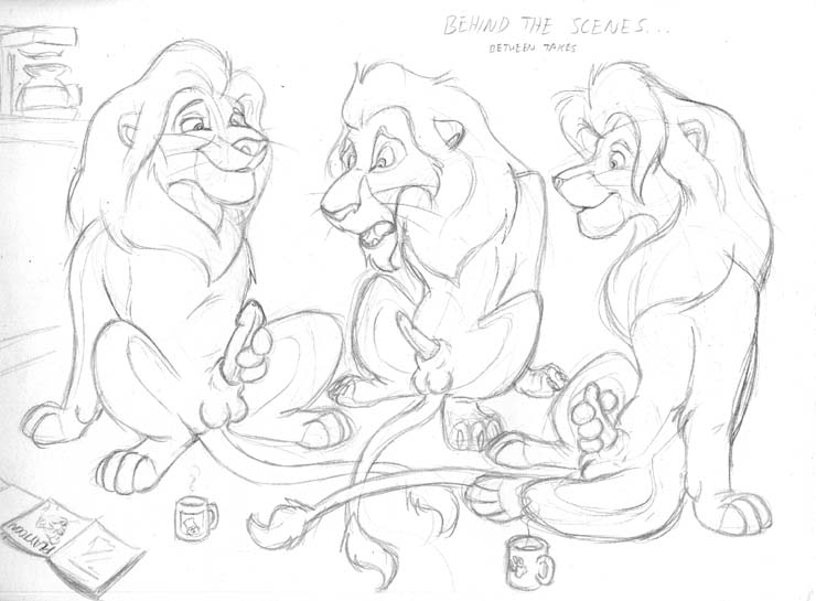 the king lion hyenas shenzi Trials in tainted space amber