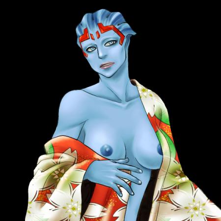 sara ryder effect mass nude andromeda Okudenashi majutsu koushi to akashic records