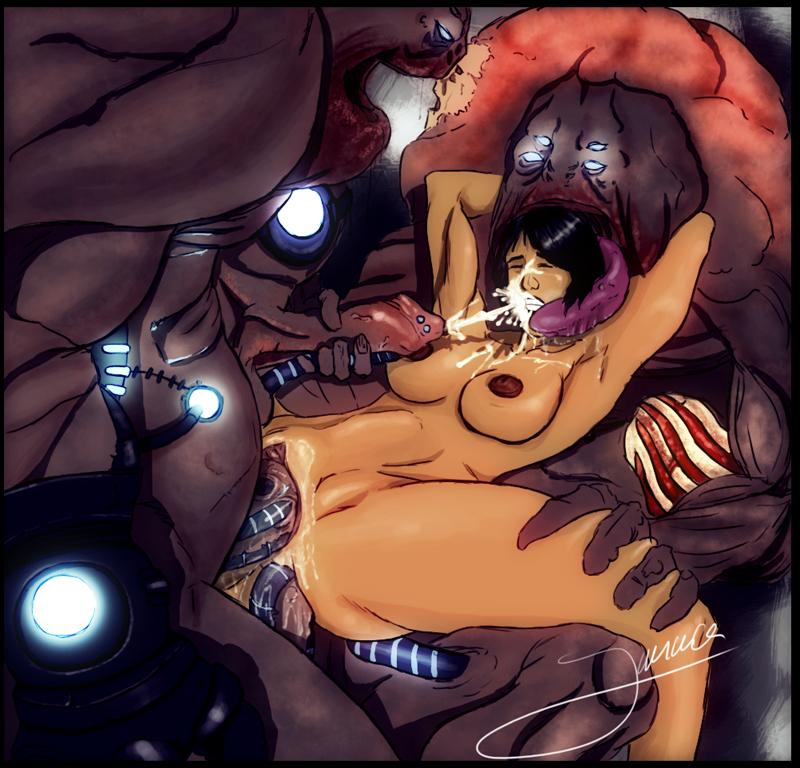 effect andromeda mass nude ryder sara Fight ippatsu! juuden-chan