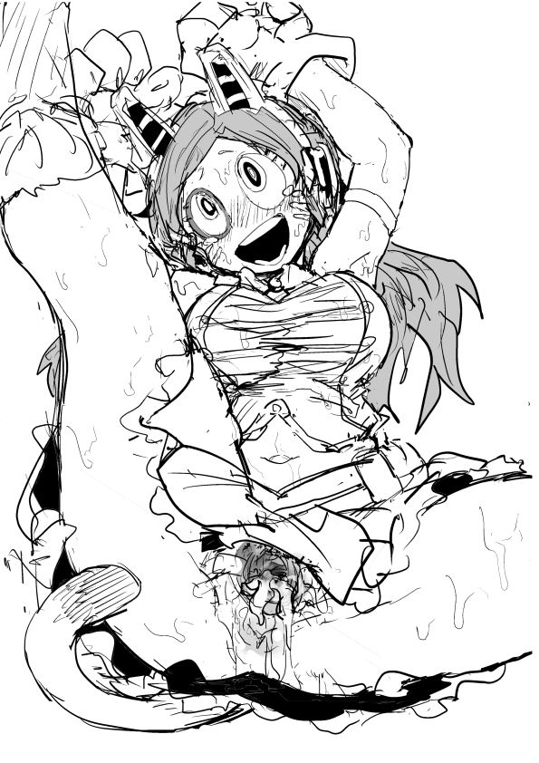 porn my hero pics academia Koutetsu no majo annerose: witchslave