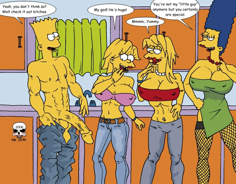 marge imagefap bart fear and the Virt-a-mate