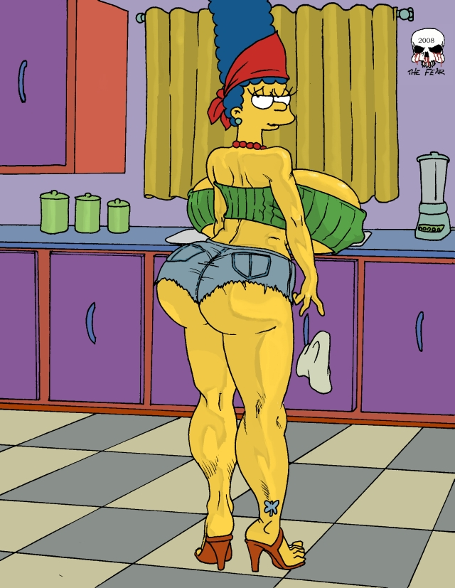 with marge big simpson boobs One piece boa hancock naked