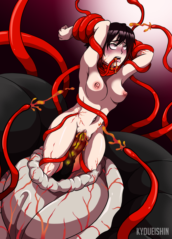 rose ruby rwby Tentacle hentai all the way through