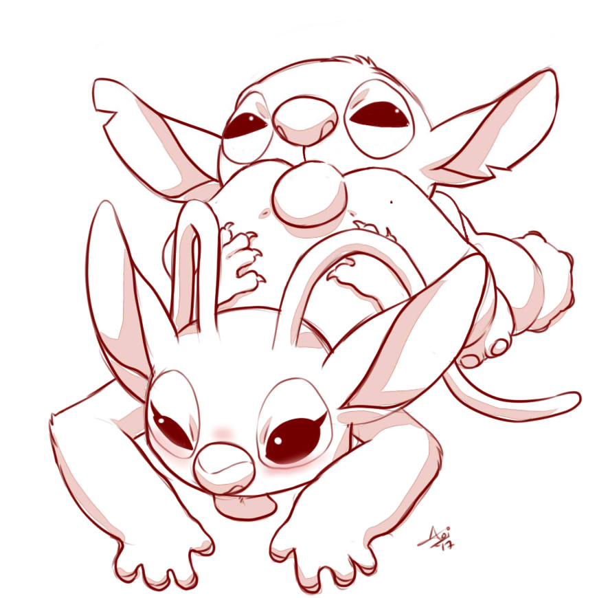 from and lilo stitch angel Legend of korra