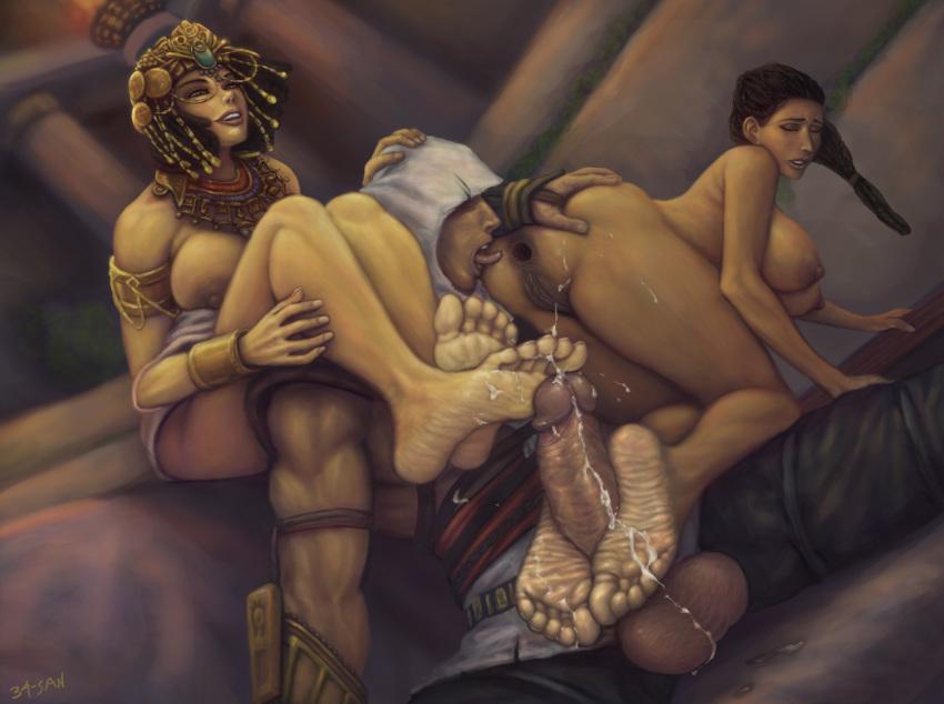 origins porn cleopatra creed assassin's Final fantasy 10 magus sisters