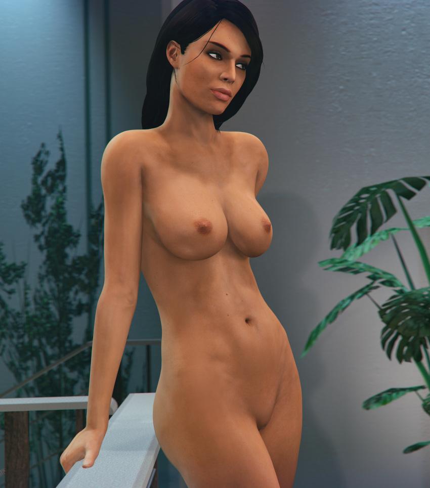 effect williams nude mass ashley Liara t soni