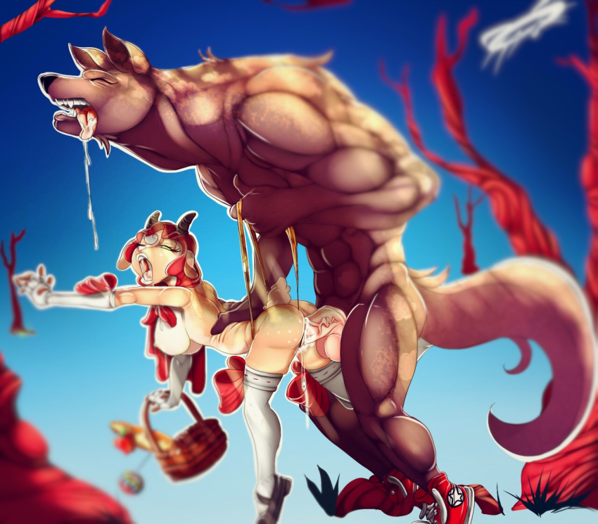 rabbit riding little red looney tunes Bleu breath of fire 2