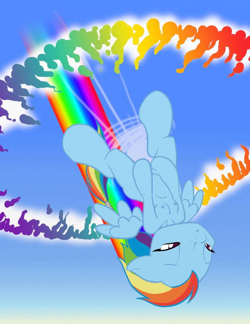 my dash little pony rainbow hentai Dragon ball super kale hentai