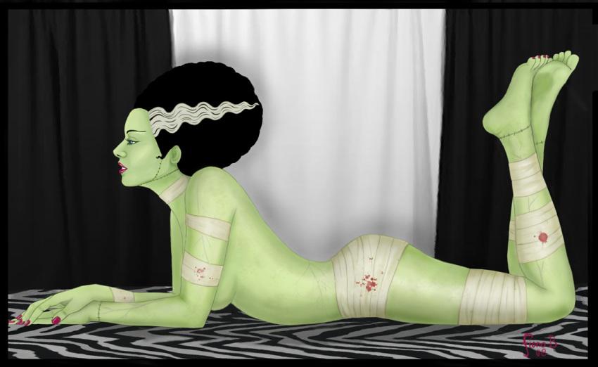 frankenstein bride of Daphne and velma lesbian porn