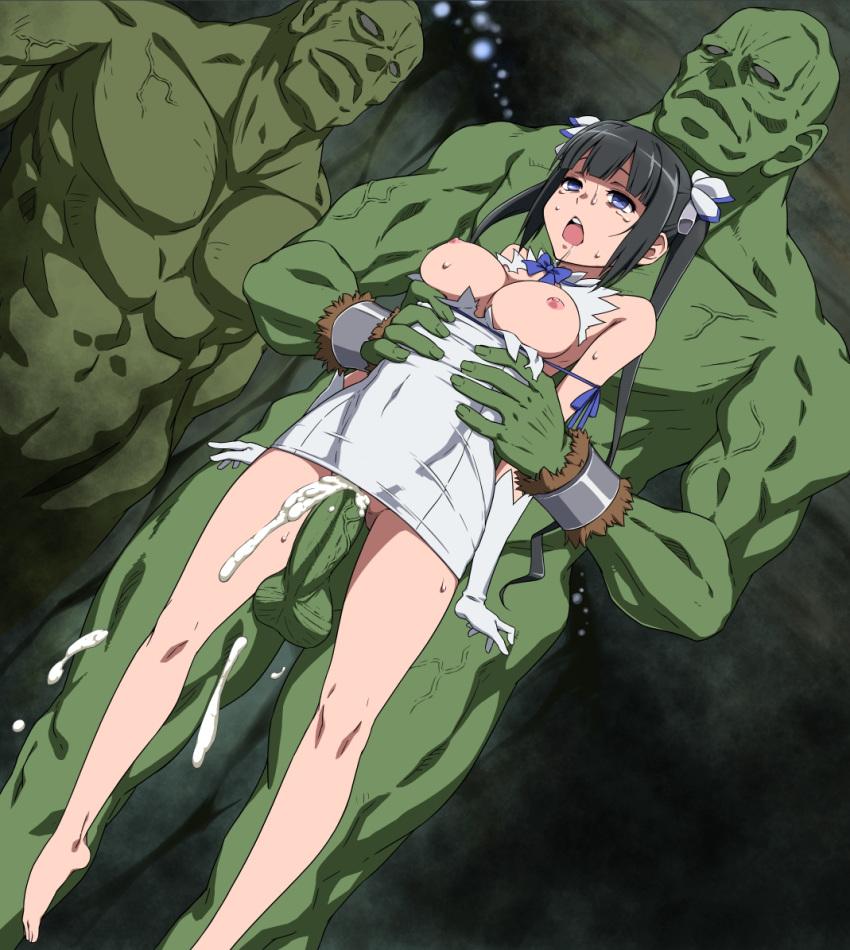 wa deai motomeru darouka no machigatte iru dungeon o ni Spike and rarity having sex