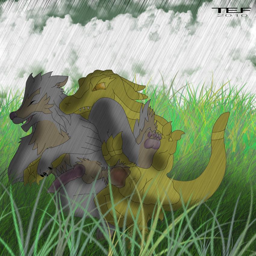 rain and tsume toboe wolf's Xenoblade x elma heart to heart