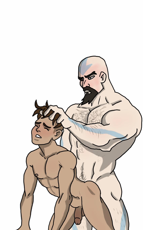 airbender last avatar mei the Naked starfire teen titans go