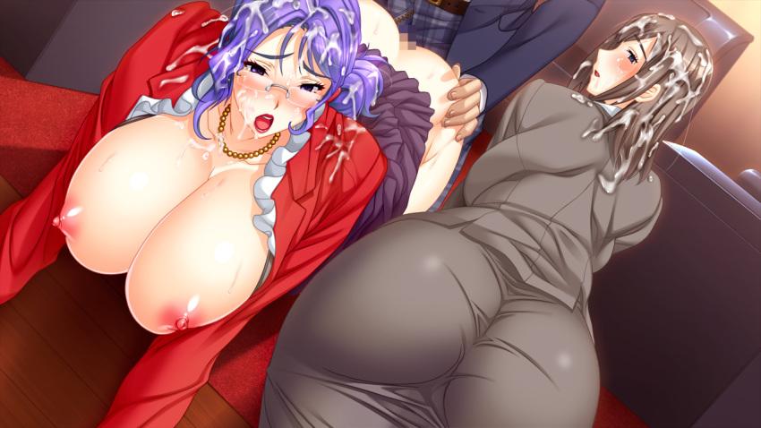 kyoushi nanami kasshoku kyonyuu moshimo onna no5 chan Tomb raider fucked by a horse