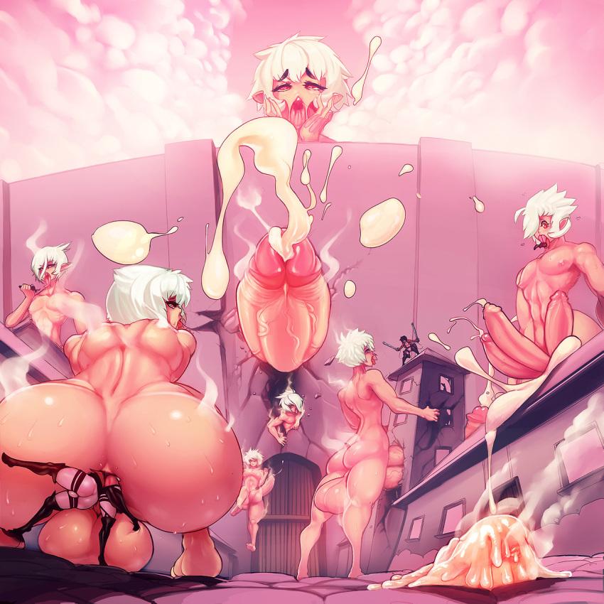 porn attack titan on gay 7 deadly sins merlin nude