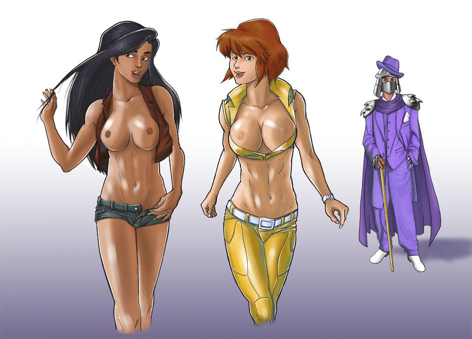 tmnt april neil naked o The legend of zelda nabooru