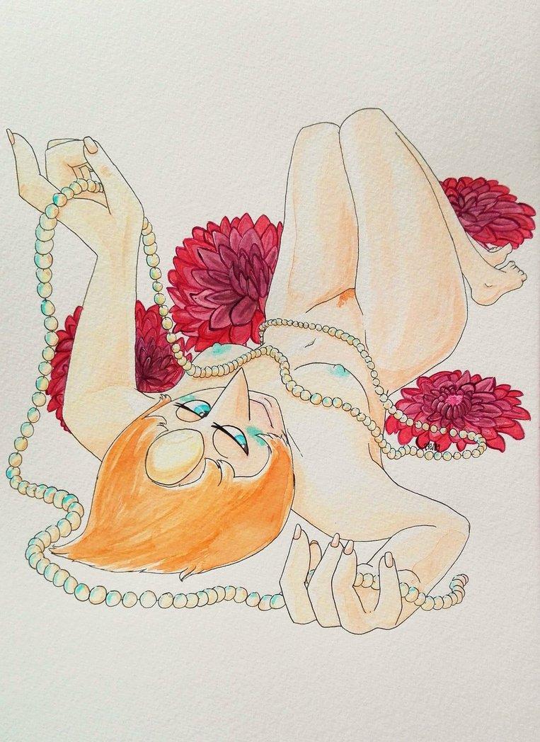 girl and mystery pearl universe steven G-senjou no maou cg