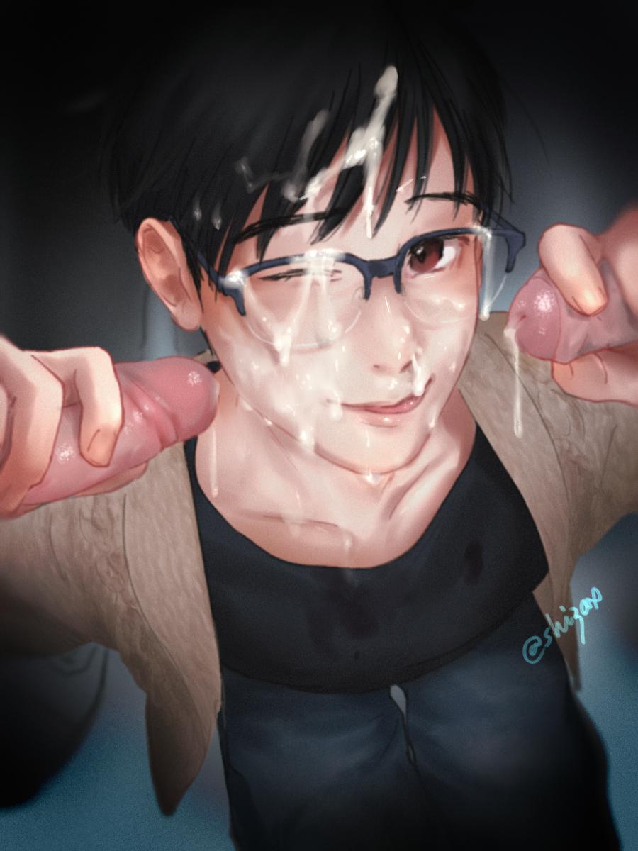 yuri is ice on yaoi My hero academia the crawler