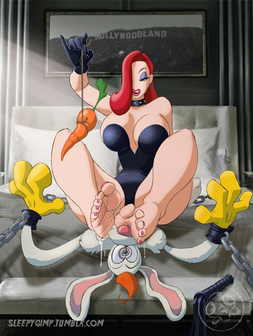 commando rabbit who framed rabbit jessica roger Sfm porn life is strange