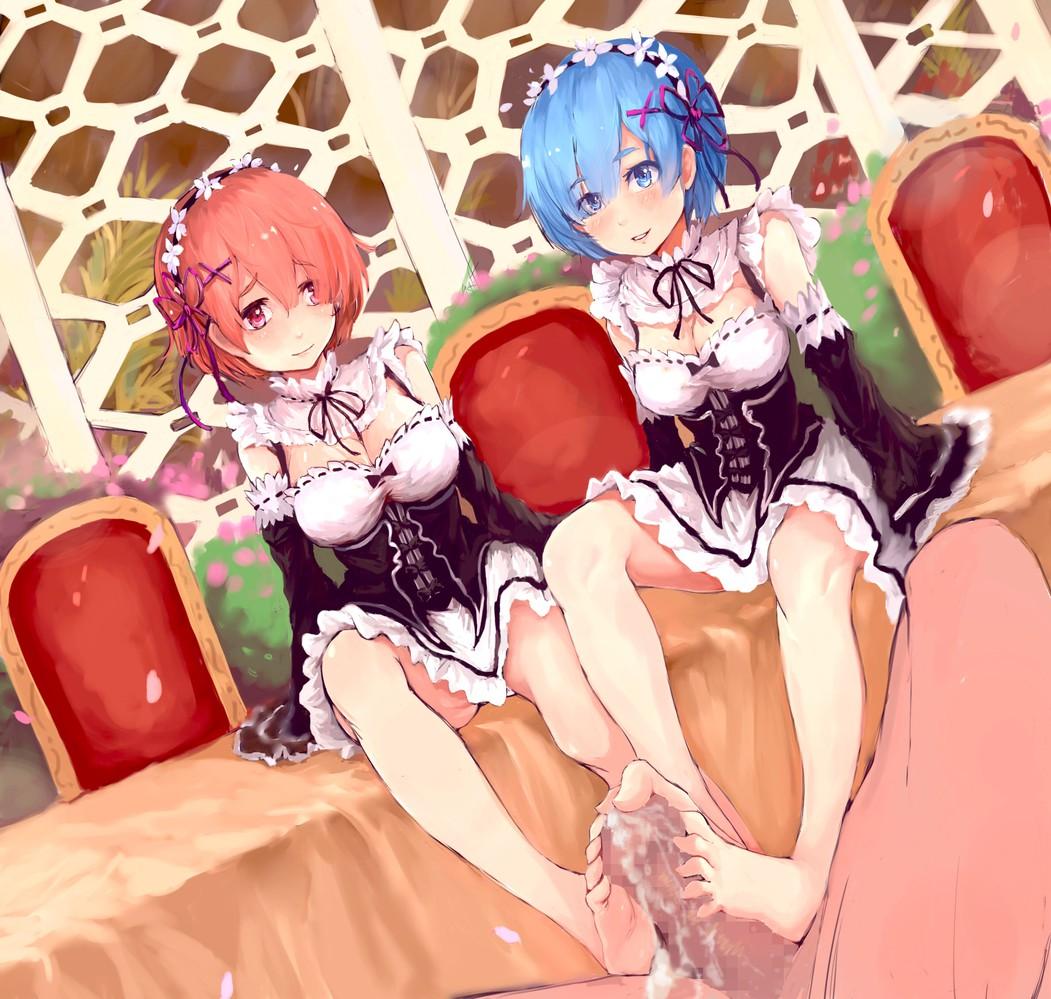 isekai kara hajimeru rem zero re seikatsu Girls x battle