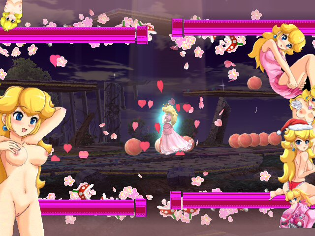 peach super bros smash brawl underwear Akazukin to mayoi no mori ookami